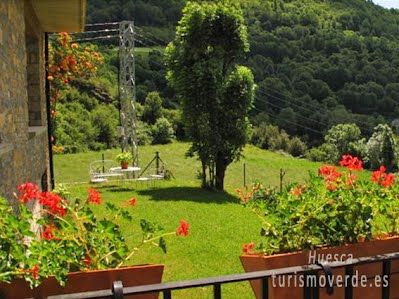 TURISMO VERDE HUESCA. Casa Anita en San Juan de Plan
